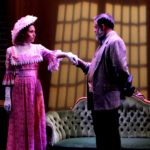 Josselyn O'Neill (Eliza Doolittle) and Edward Hightower* (Henry Higgins)